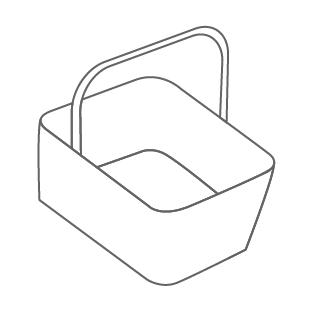 Cestos para Supermercados