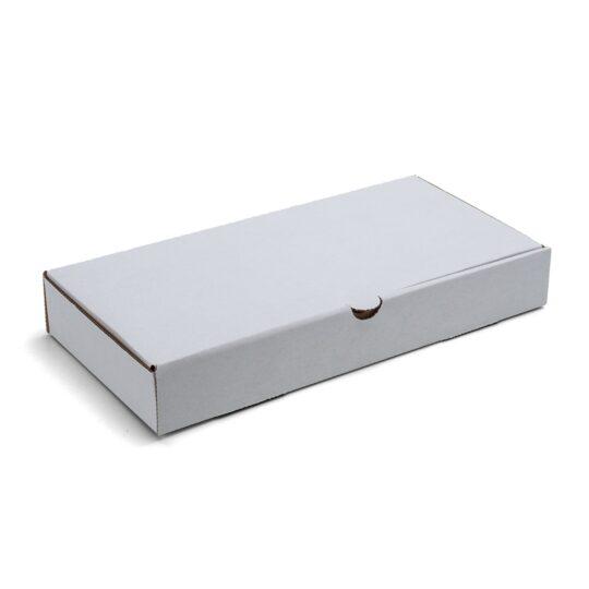 Caja Raviolera de Cartón Blanca con tapa