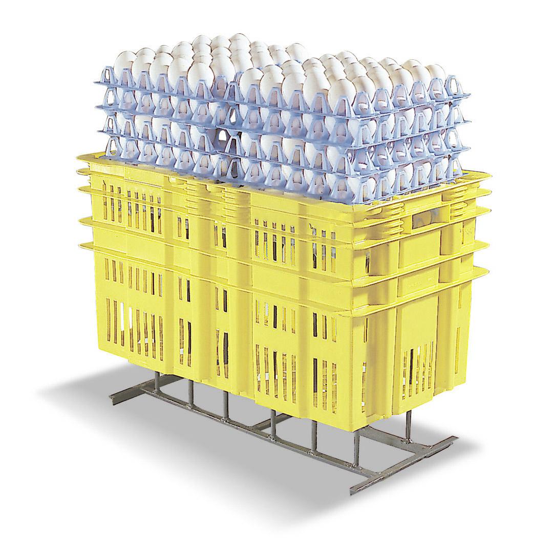 Cajon de 75 litros para 30 docenas de huevos