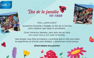 ESTE AÑO EN DARNEL CELEBRAMOS EL DÍA DE LA FAMILIA EN CASA