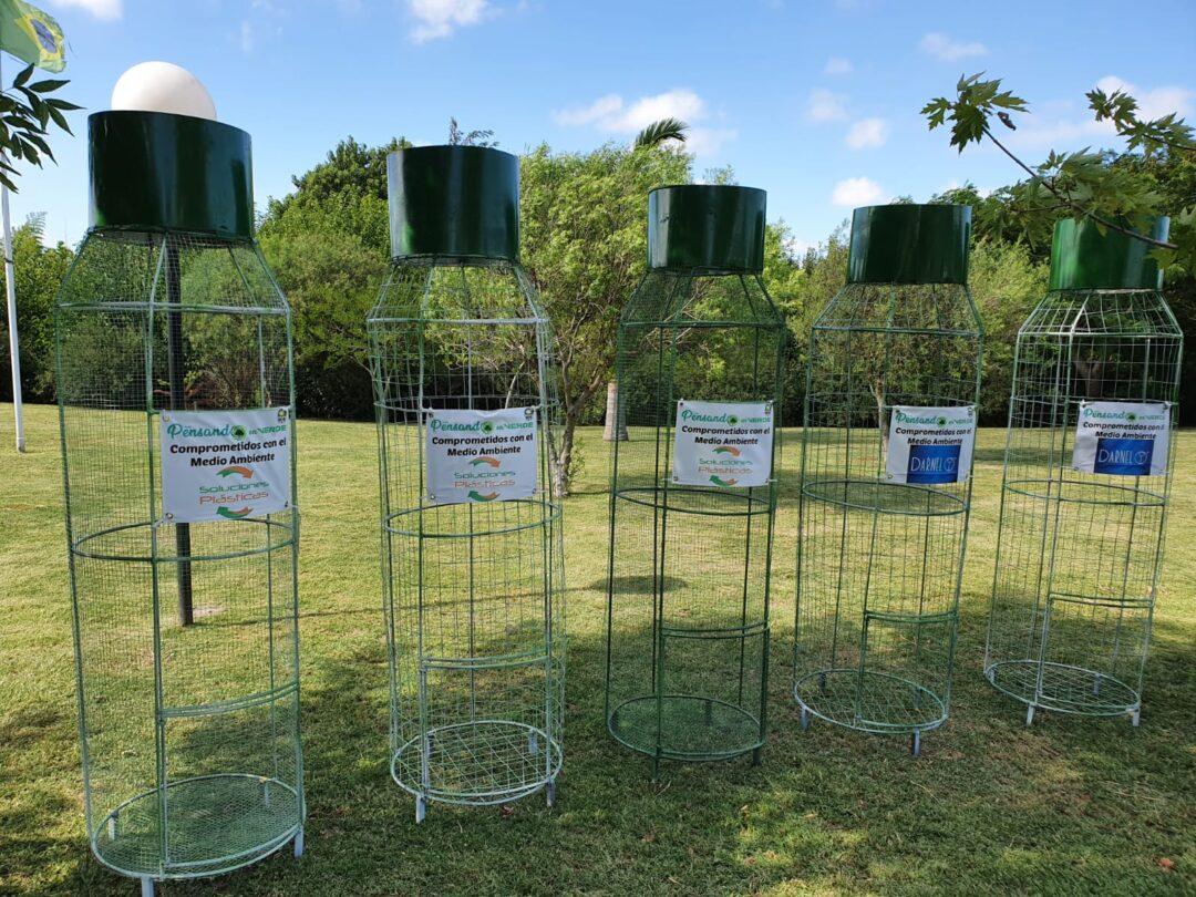 """Presentes en la segunda etapa del proyecto ambiental """"Botellones"""""""